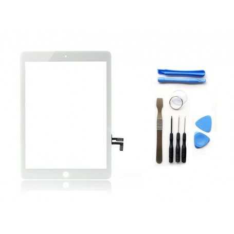 Kit Vitre/Ecran tactile iPad Air Blanc (WiFi & 3G) + Outils iPad