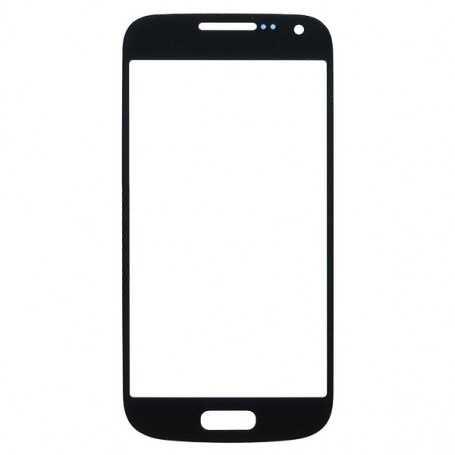 Vitre tactile Samsung Galaxy S4 Mini Noir + Autocollant