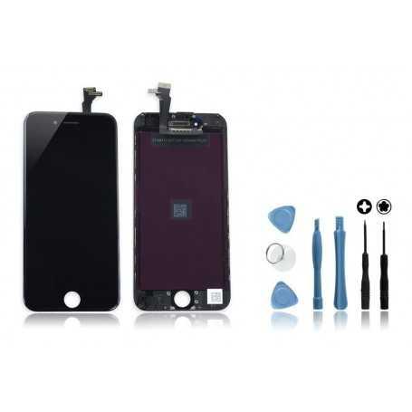 Kit Ecran original pour iPhone 6 Noir : Vitre + Ecran LCD + Outils
