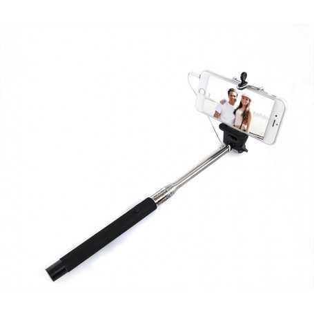 Perche à Selfie avec câble pour iPhone et Android