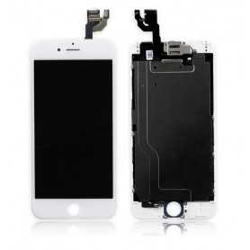 Ecran original complet pour iPhone 6 Blanc : Vitre + Ecran LCD + Elements