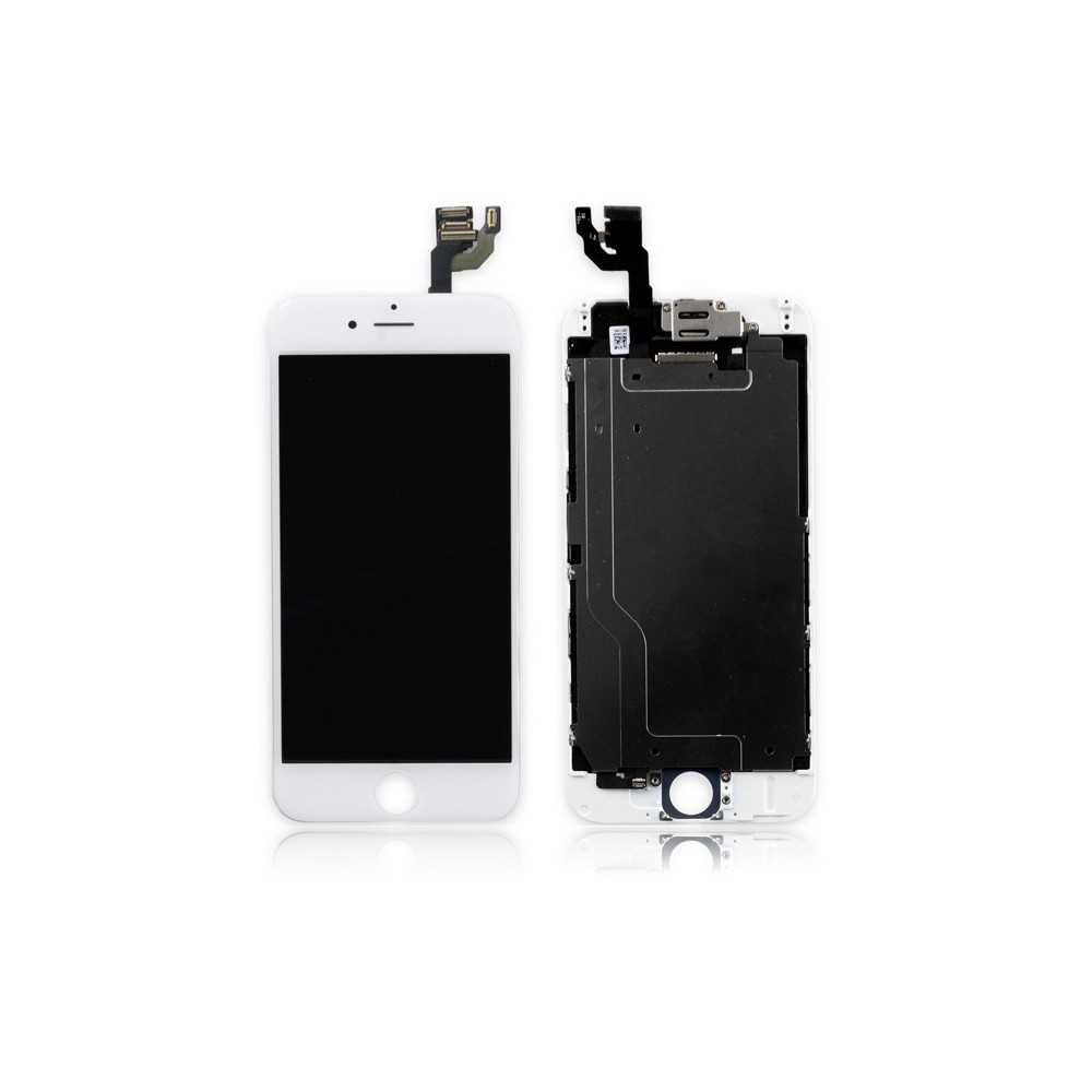 ecran original iphone 6 blanc complet vitre tactile. Black Bedroom Furniture Sets. Home Design Ideas