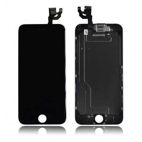 Ecran original complet pour iPhone 6 Noir : Vitre + Ecran LCD + Elements