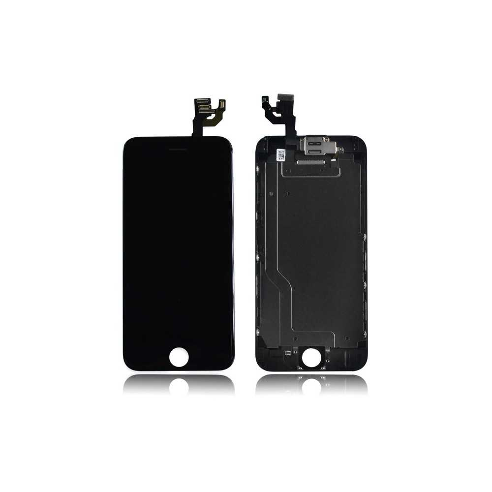 Ecran original iphone 6 noir complet vitre tactile for Ecran photo iphone noir