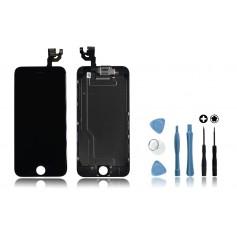 Kit Ecran original complet pour iPhone 6 Noir : Vitre + Ecran LCD + Elements + Outils