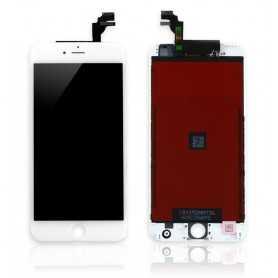 Ecran original pour iPhone 6 Plus Blanc : Vitre + Ecran LCD