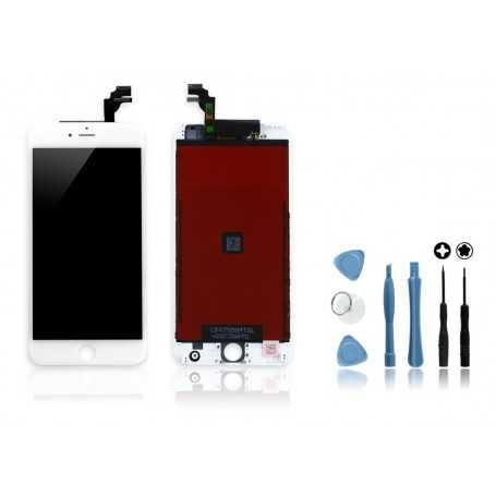 kit ecran original pour iphone 6 plus blanc vitre. Black Bedroom Furniture Sets. Home Design Ideas