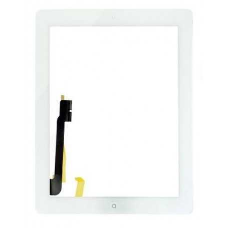 Ecran/Vitre tactile Complète pour iPad 3 et 4 Blanc (WiFi & 3G)