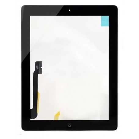 Ecran Vitre Tactile Complete Pour Ipad 4 Noir Wifi 3g