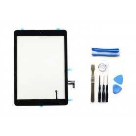 Kit Ecran/Vitre tactile Complète pour iPad Air et iPad 5 Noir + Outils iPad