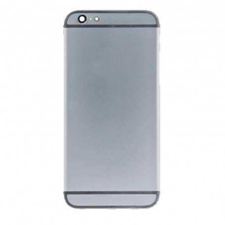 Coque arrière pour iPhone 6 Noir - Sans logo Apple