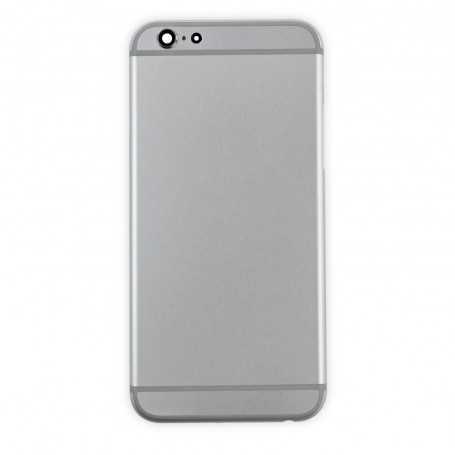 Coque arrière pour iPhone 6 Argent - Sans logo Apple