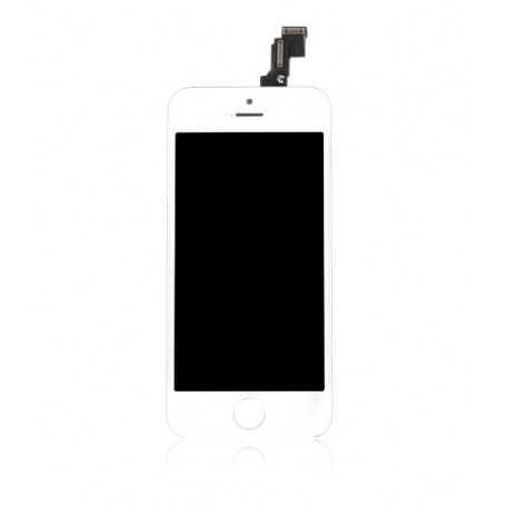 Ecran original pour iPhone 5C Blanc : Vitre Tactile + Ecran LCD