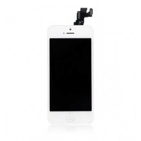 Ecran original complet pour iPhone 5C Blanc : Vitre + Ecran LCD + Elements
