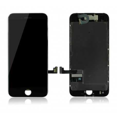Ecran original complet pour iPhone 7 Noir : Vitre + Ecran LCD + Elements
