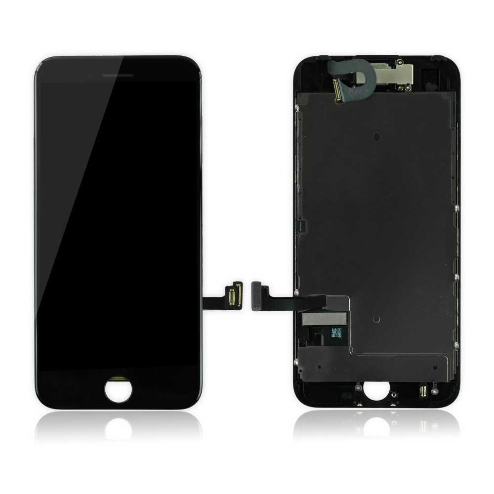 Ecran original iphone 7 noir complet vitre tactile for Ecran photo iphone noir