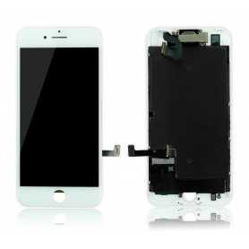 Ecran original complet pour iPhone 7 Blanc : Vitre + Ecran LCD + Elements