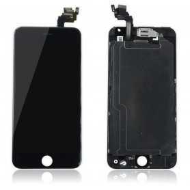 Ecran complet pour iPhone 6 Plus Noir : Vitre + Ecran LCD + Elements