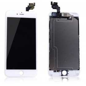 Ecran original complet pour iPhone 6 Plus Blanc : Vitre + Ecran LCD + Elements