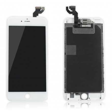 Ecran original complet pour iPhone 6S Plus Blanc : Vitre + Ecran LCD + Elements