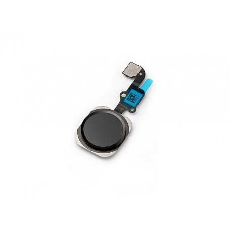 Bouton Home pour iPhone 6 Gris sidéral avec nappe