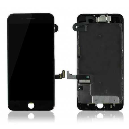 Ecran original complet pour iPhone 7 Plus Noir : Vitre + Ecran LCD + Elements