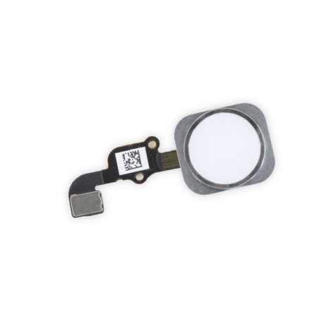Bouton Home pour iPhone 6 avec nappe (Argent, Or, Gris Sidéral)