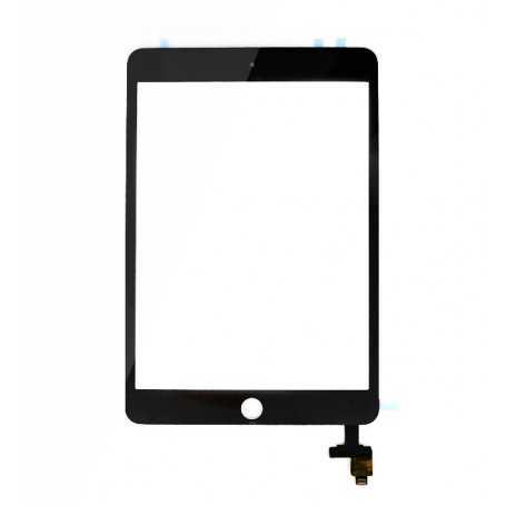 Ecran/Vitre tactile Complète pour iPad Mini 3 Noir + Autocollant 3M
