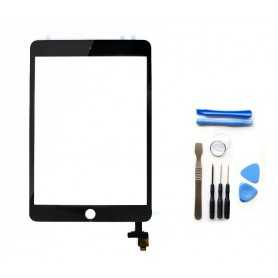 Kit Ecran/Vitre tactile Complète pour iPad Mini 3 Noir + Outils iPad + Autocollant 3M