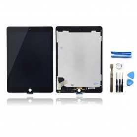 Kit Vitre tactile + Ecran LCD assemblés pour iPad Air 2 Noir + Outils iPad