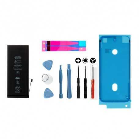 Kit Batterie iPhone 7 avec sticker adhésif, joint d'étanchéité, et outils