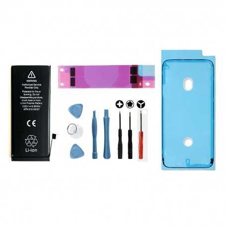 Kit Batterie iPhone 8 avec sticker adhésif, joint d'étanchéité, et outils