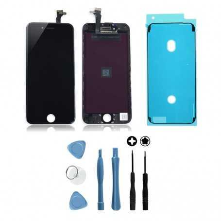 Kit Ecran original pour iPhone 6S Noir avec joint d'étanchéité : Vitre + Ecran LCD + Outils