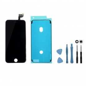 Kit Ecran original complet pour iPhone 6S Noir : Vitre + Ecran LCD + Elements + Outils
