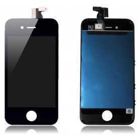 Ecran LCD assemblé avec Vitre Tactile et Chassis pour iPhone 4 Noir