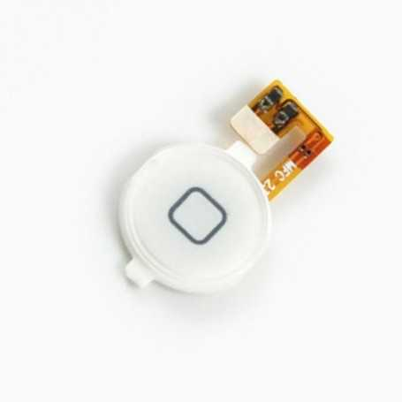 Bouton Home pour iPhone 3GS Blanc avec nappe