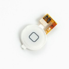 Bouton Home pour iPhone 3G et 3GS Blanc avec nappe