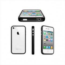 Bumper pour iPhone 4/S avec Boutons Alu