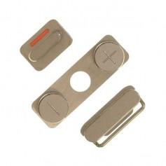 Lot de 3 Boutons pour iPhone 4S : Volume, Vibreur, Power