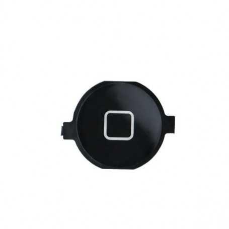 Bouton Home pour iPhone 4 Noir sans nappe
