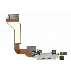Connecteur de charge Dock iPhone 4 Noir avec Micro