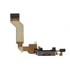 Connecteur de charge Dock iPhone 4S Noir avec Micro