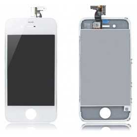 Ecran original pour iPhone 4S Blanc : Vitre Tactile + Ecran LCD