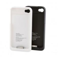 Coque avec Batterie intégrée pour iPhone 4 et 4S - 1900 mAh - Noir ou Blanc