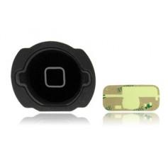 Bouton Home pour iPod Touch 4 Noir + Autocollant 3M