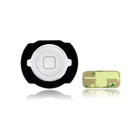 Bouton Home pour iPod Touch 4 Blanc + Autocollant 3M