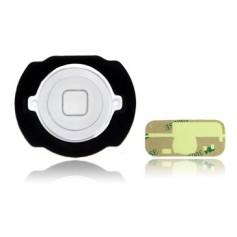 Bouton Home complet pour iPod Touch 4 Blanc + Autocollant 3M