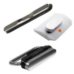 Lot de 3 Boutons pour iPhone 3G et 3GS Blanc : Volume, Vibreur, Power