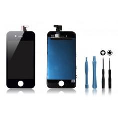 Kit Ecran original pour iPhone 4 Noir : Vitre Tactile + Ecran LCD + Outils