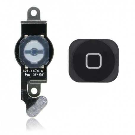 Bouton Home pour iPhone 5 Noir avec nappe